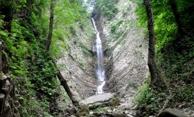Harmankaya Waterfall